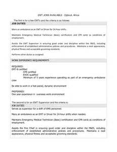 Emt Resumes by Paramedic Instructor Resume Sales Instructor Lewesmr