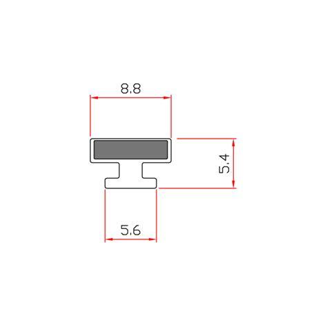 guarnizioni doccia gomma guarnizione magnetica box doccia in gomma ec mag 3612