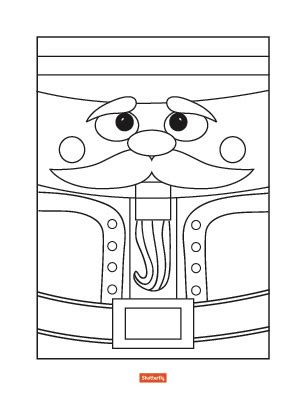 easy nutcracker coloring pages nutcracker christmas coloring pages for kids simple
