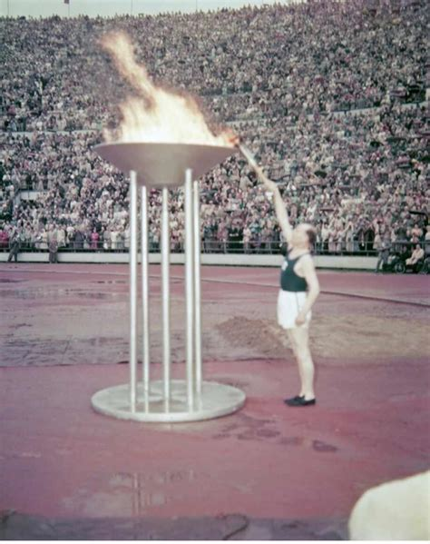 list of who lit the olympic cauldron wiki
