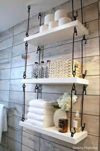 Bathroom Shelf Idea 25 Best Ideas About Hanging Shelves On Wall