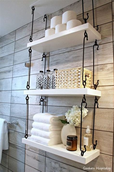 Shelves In The Bathroom 25 Best Ideas About Hanging Shelves On Wall Hanging Shelves Bathroom Etageres And