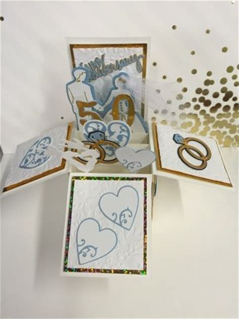 50th Wedding Anniversary Card Box by 1000 Images About Handmade Pop Up Cards On