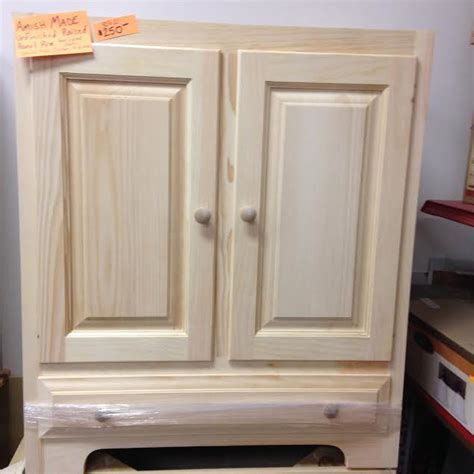 Unfinished Pine Bathroom Vanity by Vanities Granite Tops Building Materials Supplies