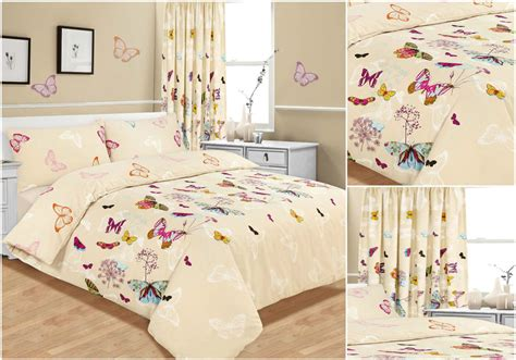 single duvet covers and matching curtains butterfly glaze bedding set duvet cover single double
