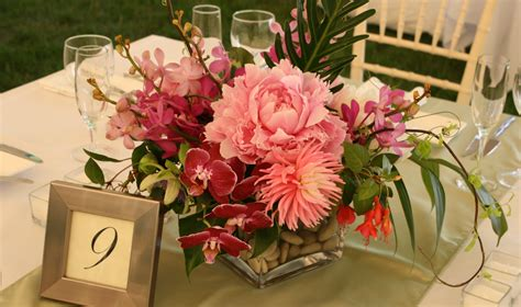 flower on table table 9 best petalena creative designs for weddings and