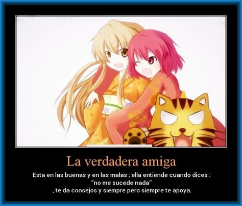 imagenes anime con frases de amistad imagenes de amistad anime con frases archivos imagenes