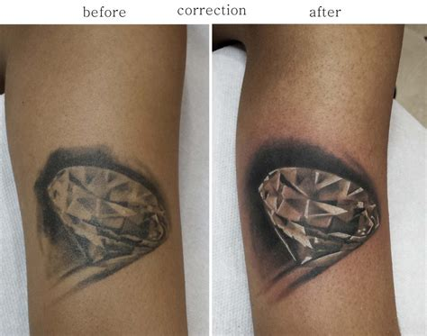 diamond tattoo cover up cover up goldentouchtattoo