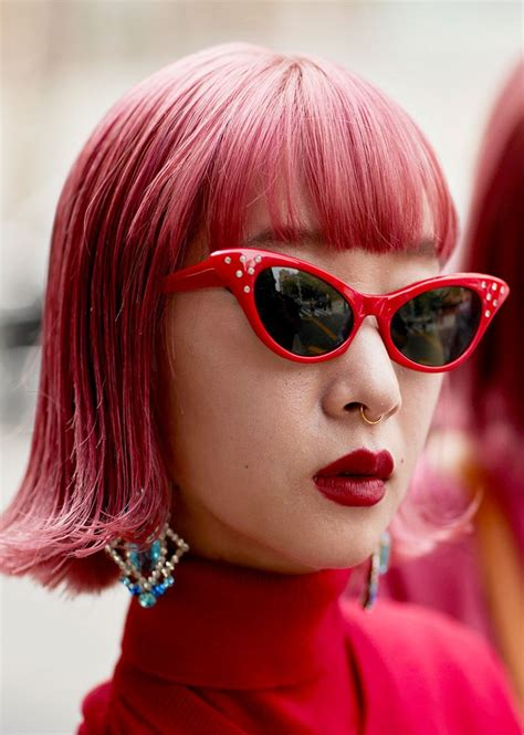 12 ways to wear pink hair stunning ways to style short hair stylecaster