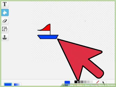 how to make a boat game on scratch how to make a boat racing game in scratch 10 steps
