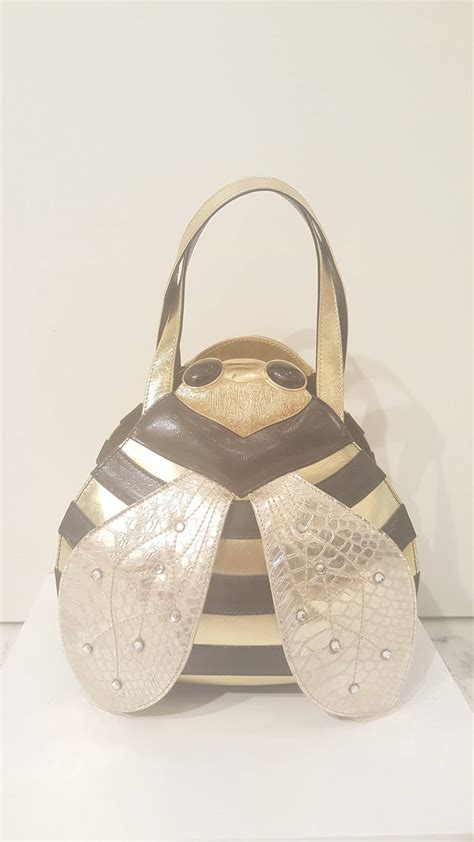 Braccialini Bags by 2000s Braccialini Bee Bag At 1stdibs