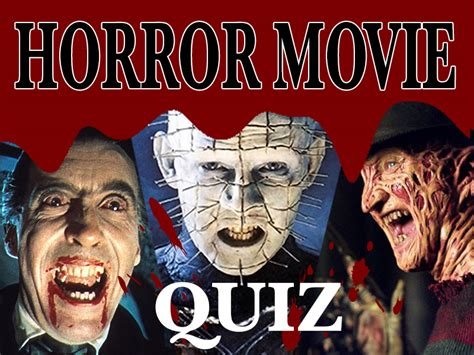 horror film quiz horror movie quiz film