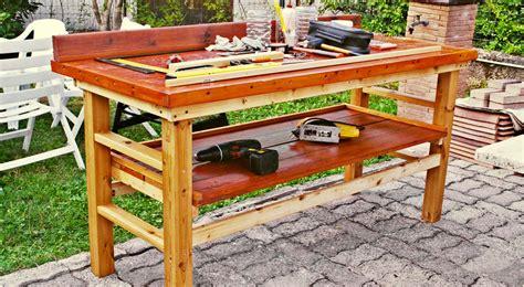 tavolo lavoro fai da te banco da lavoro fai da te in legno come costruirlo senza