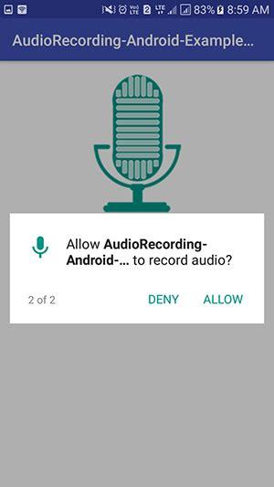 pattern recorded android recording android app 3 android exles