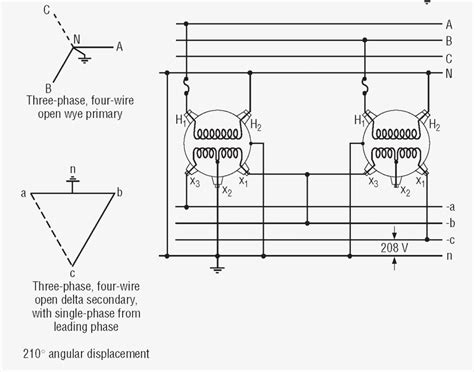 transformer wiring diagrams three phase wiring diagram