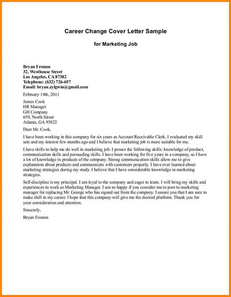 exle of a professional cover letter 9 best application letter for a or employment