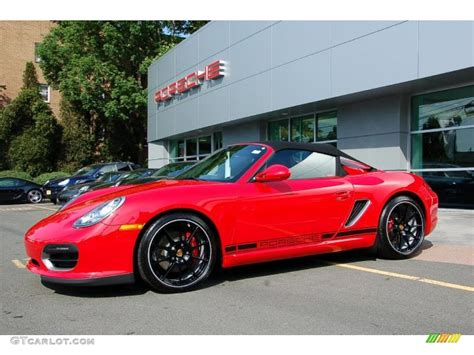 porsche dark red 2011 guards red porsche boxster spyder 30432453 photo 3