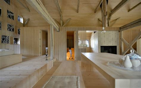 architects transform an hay barn into a stunning