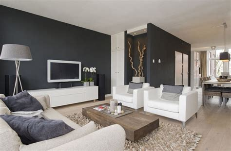 dark grey walls grey sofa dfs the edit