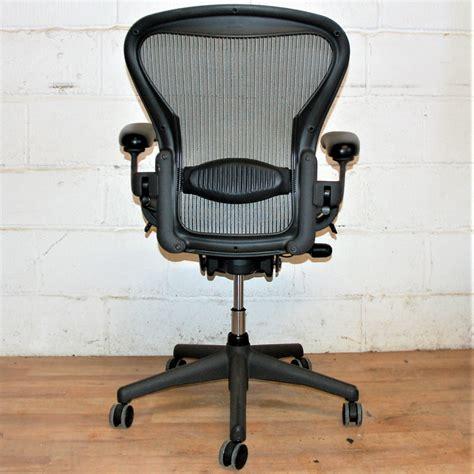 herman miller aeron task chair silver  herman miller aeron