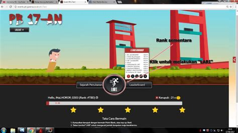 event pb garena event pb 17an senjata atau chash gratisss point blank garena indonesia