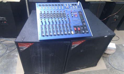 Channel Harga Sepasang sound birdfm set pa system baru pakej b