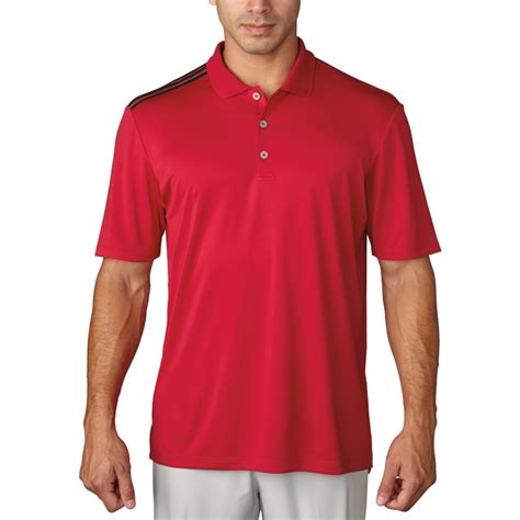 Polo 3strip Adidas new adidas climacool 3 stripes golf polo comfort