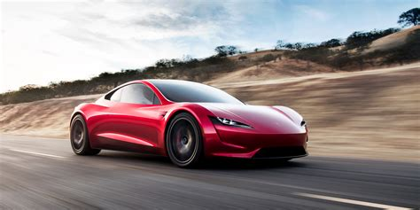 tesla supercar tesla roadster electric supercar races to a top speed