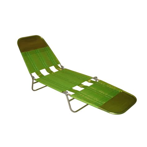 shop garden treasures green folding banana lounge chair at - Folding Banana Lounge Chair
