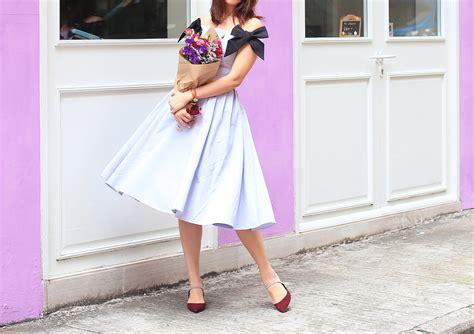 Dress Melisa Bow how i hue mellowmayo