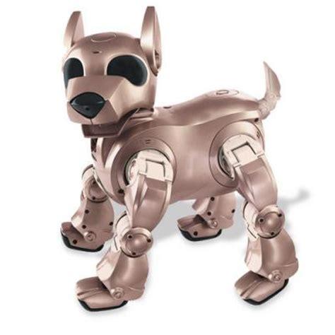 robot puppies pin robot on