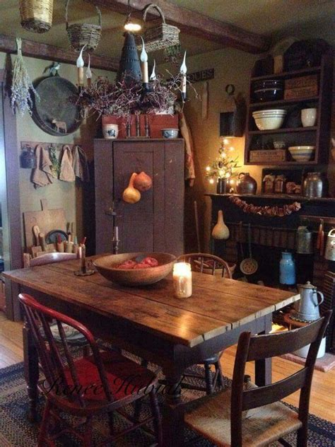 Rustic Primitive Home Decor 17 Best Images About Prim Colonial Kitchens And Diningrooms On David Smith