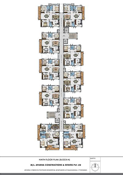 floor plans now available for the reserves gated community 3 bhk gated community apartments on sale aparna cyberzon