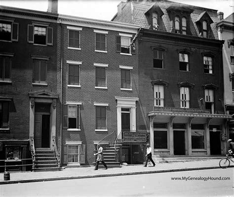 house where lincoln died washington d c the petersen house where president lincoln died historic photo