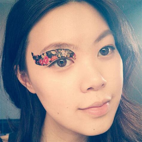 temporary eye tattoos temporary tattoos eye makeup review so babble