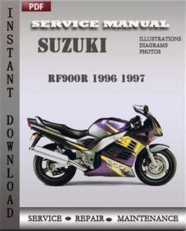 small engine repair manuals free download 1996 suzuki sidekick electronic throttle control suzuki rf900r 1996 1997 free download pdf repair service manual pdf
