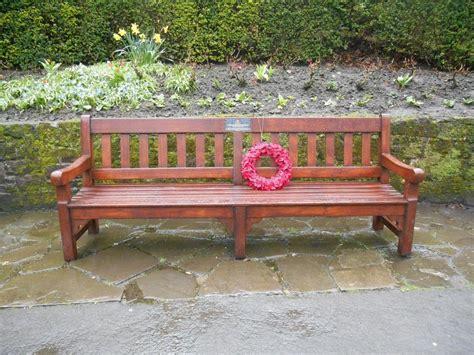 commemorative bench commemorative benches edinburgh benches