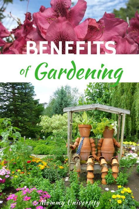10 Benefits Of Gardening With Kids Mommy University Benefits Of Vegetable Gardening