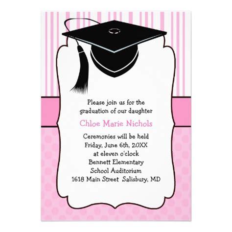 accesorios para graduacion invitaciones para graduaciones invitaci 243 nes de graduaci 243 n de primaria para modificar e