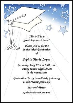 1000 Images About 8th Grade Middle School Junior High Graduation Cards On Pinterest Middle School Graduation Program Template
