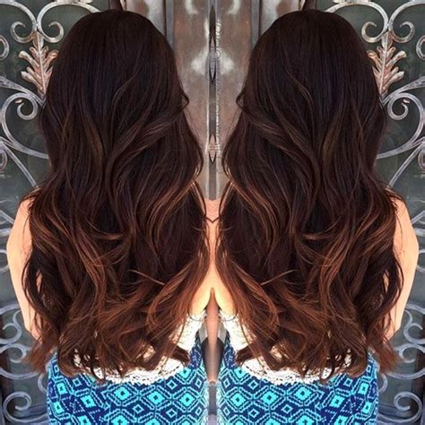 balayage highlights on dark brown hair balayage highlights on dark brown hair