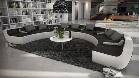 canapé en u design canap 233 d angle cuir panoramique canap 233 d angle cuir