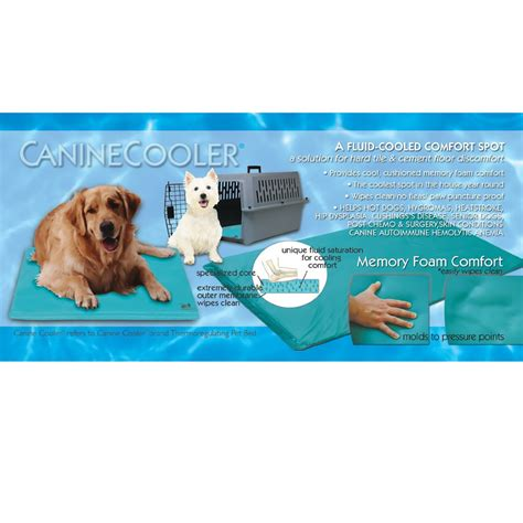 cooling bed for dogs canine cooler bed