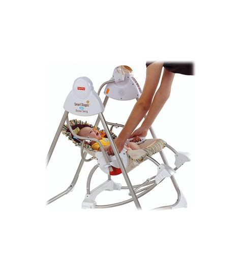 smart swing fisher price smart stages 3 in1 rocker swing m5594