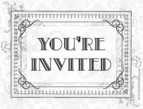 Postcard Invitation Template Free by Printable Vintage Postcard Invitations