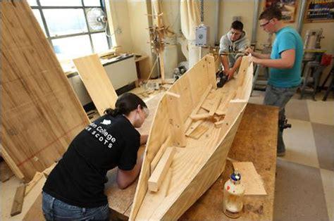 twist  shop class  topsfield building boats
