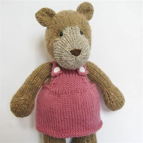 knitting pattern teddy bear teddy bear toy knitting pattern knitting extreme pinterest