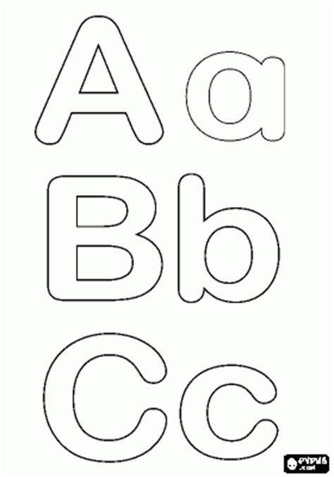 s simple alphabet coloring book black white a z coloring book s simple coloring book volume 1 books abecedarios en blanco y negro para colorear