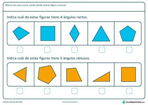 figuras geometricas angulos ficha de 225 ngulos rectos para primaria mundo primaria