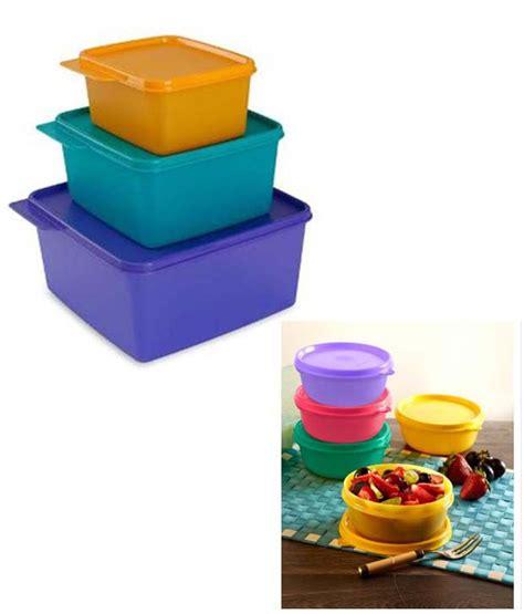 tupperware plastic tupperware keep tabs set 3pcs